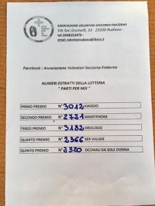 Lotteria Volontari Rudiano